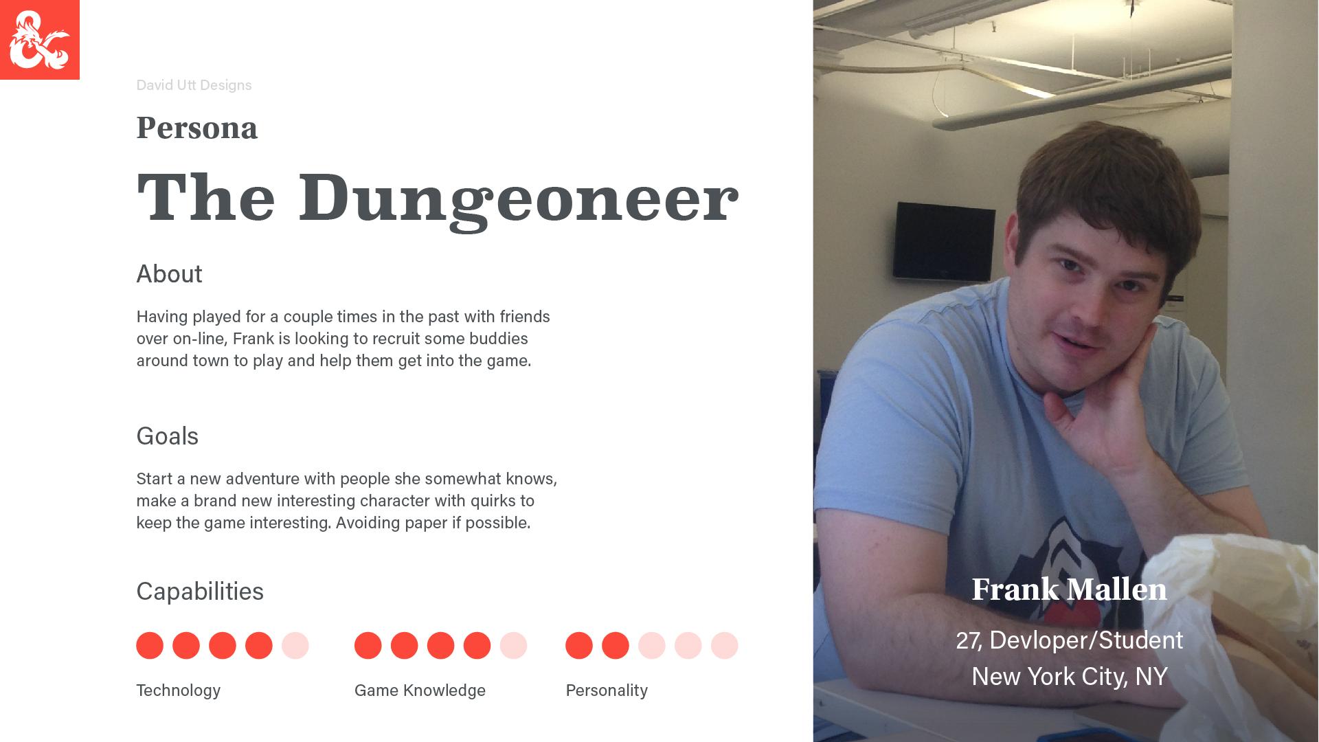 D&D Character App Deck-25